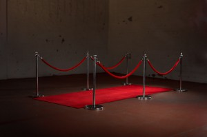 Red Carpet Entry Way