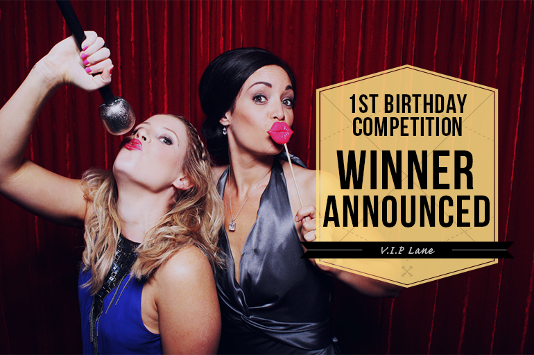 VIP Lane Photobooth Competition Winner