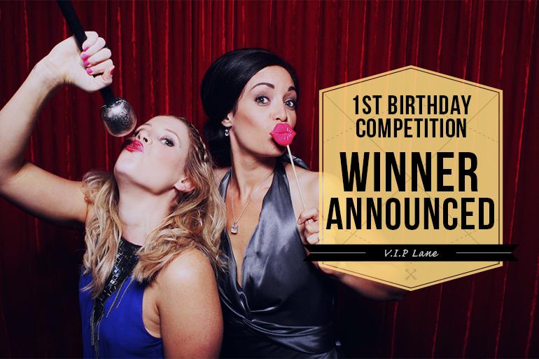 VIP Lane Photobooth Competition Winner
